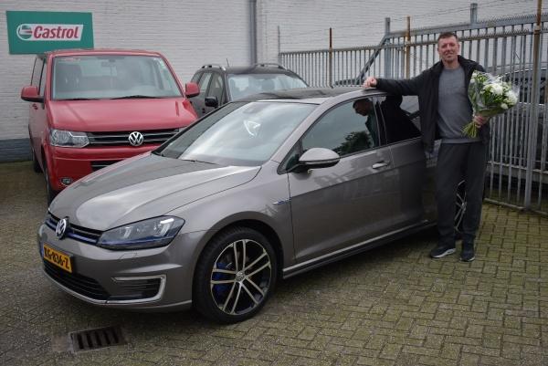 Aflevering Volkswagen Golf Gte