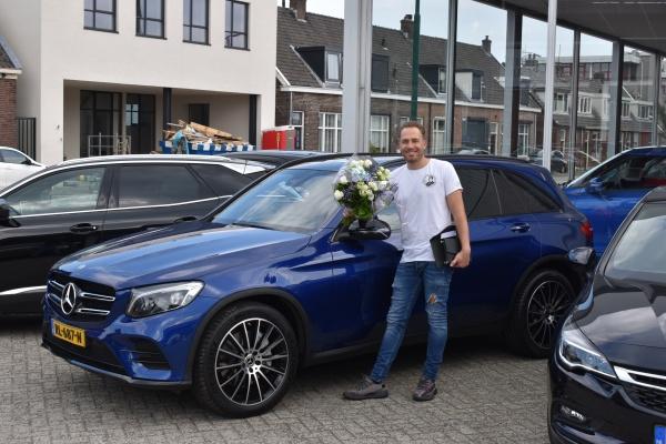 Aflevering Mercedes-Benz GLC250