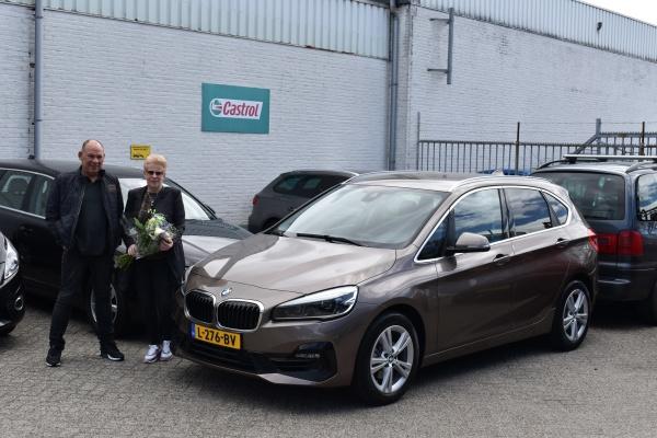 Aflevering BMW 218i