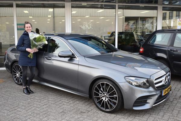 Aflevering Mercedes-Benz E-klasse