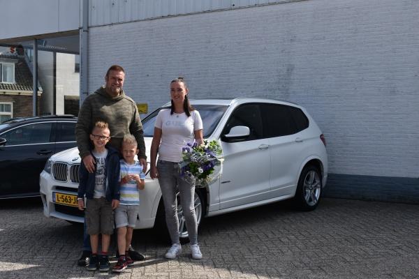 Aflevering BMW X3 35i