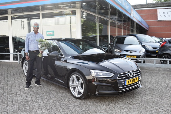 Aflevering Audi A5 coupé