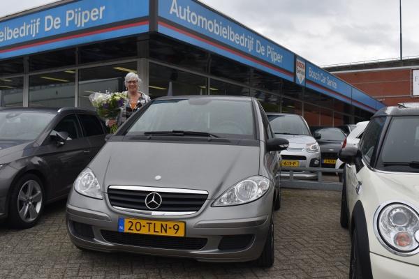 Aflevering Mercedes-Benz A-klasse