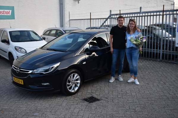 Aflevering Opel Astra automaat