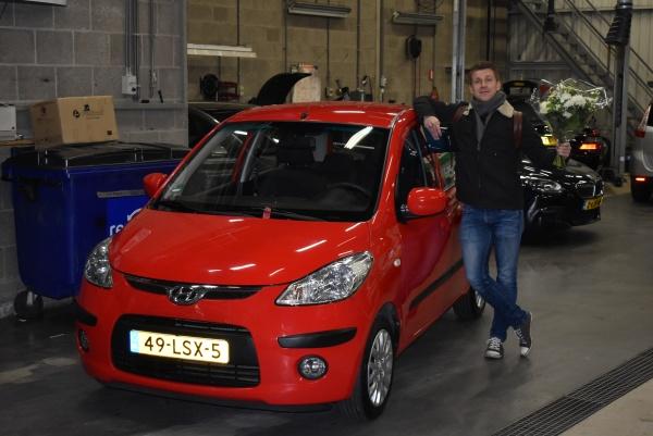 Aflevering Hyundai i10