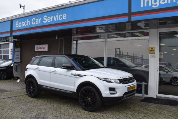 Aflevering Range Rover Evoque