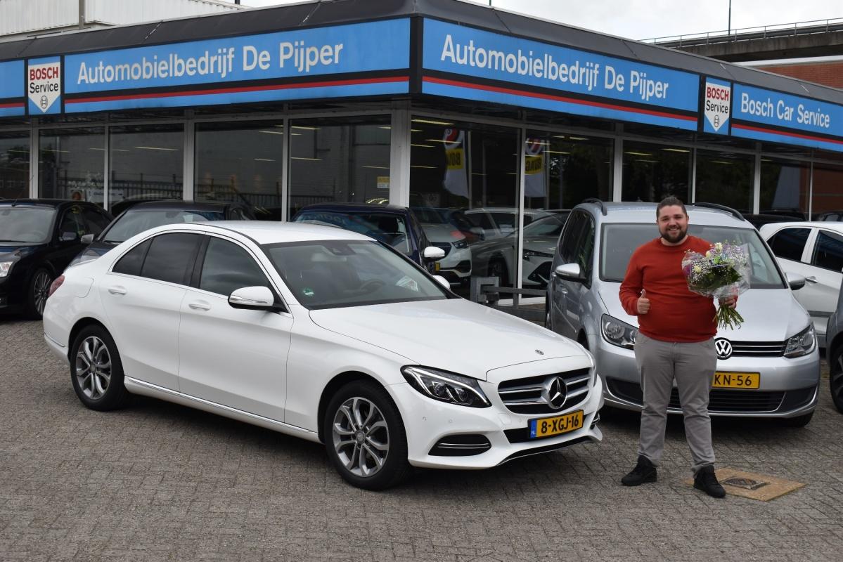 Aflevering Mercedes-Benz C180
