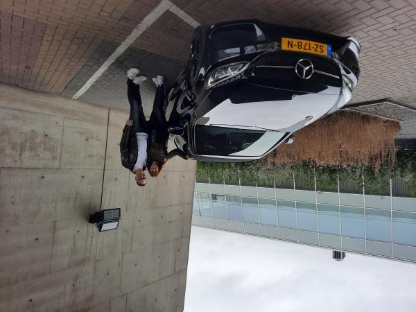 Aflevering Mercedes-Benz C cabrio