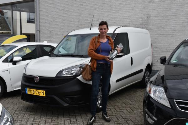 Aflevering Fiat Doblo