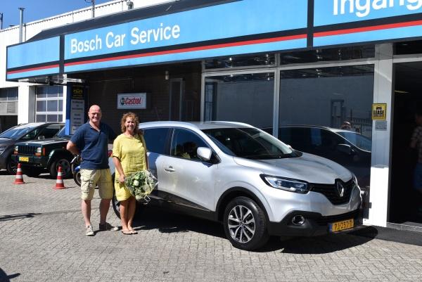 Aflevering Renault Kadjar