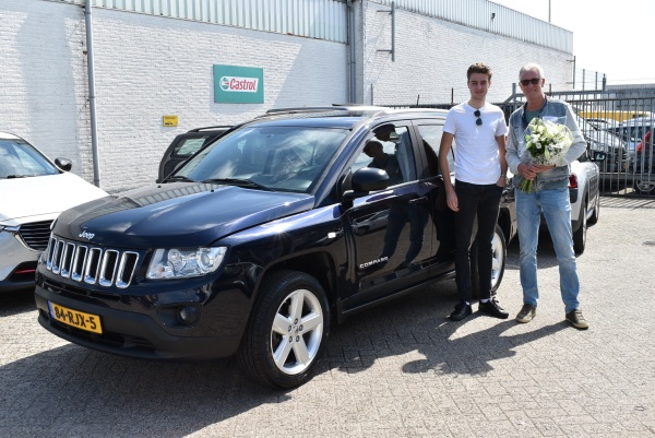 Aflevering Jeep Compass