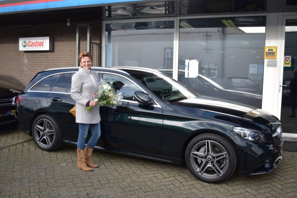 Aflevering Mercedes-Benz C200