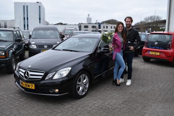 Aflevering Mercedes-Benz E250 Coupé