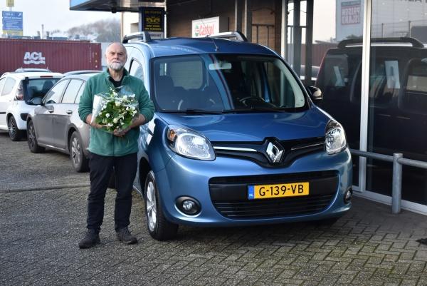 Aflevering Renault Kangoo