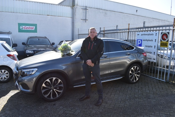 Aflevering Mercedes-Benz GLC250