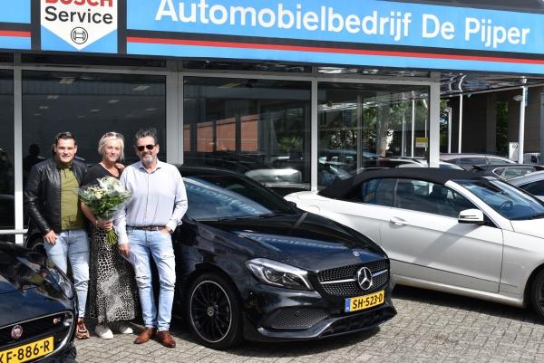 Aflevering Mercedes-Benz A180