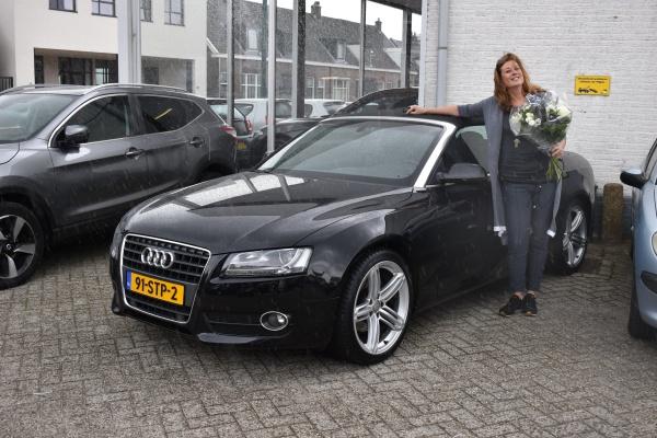 Aflevering Audi A5 cabriolet