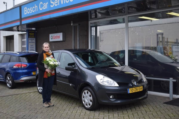 Aflevering Renault Clio