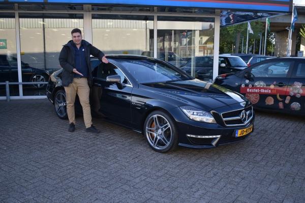 Aflevering Mercedes-Benz CLS63 AMG