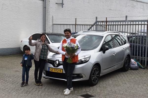 Aflevering Renault Grand Scénic