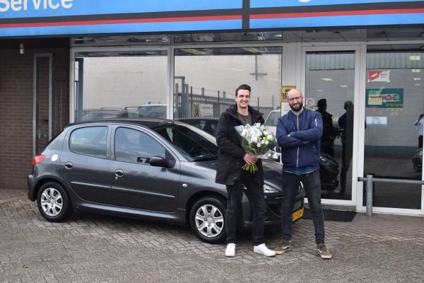 Aflevering Peugeot 206+