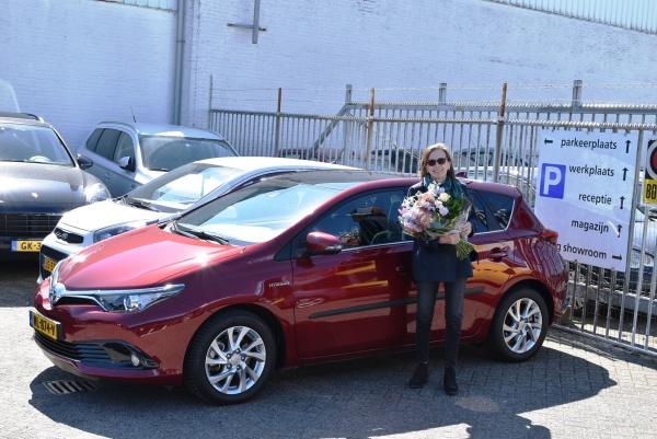 Aflevering Toyota Auris hybride