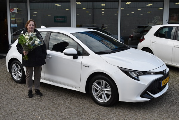 Aflevering Toyota Corolla Hybride