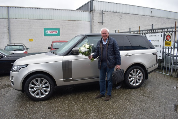 Aflevering Land Rover Range Rover Vogue