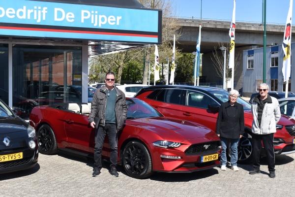 Aflevering Ford Mustang cabriolet-2021-04-26 16:00:57