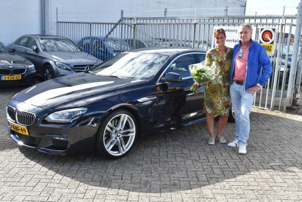Aflevering BMW 640i Gran Coupé