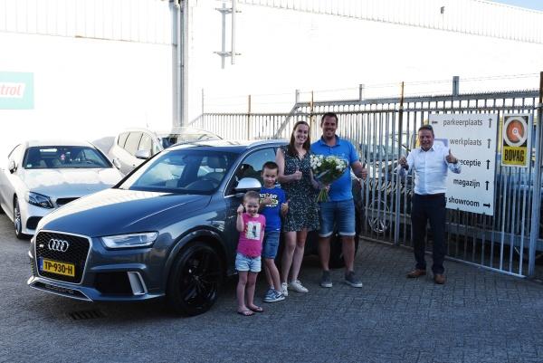 Aflevering Audi RS Q3