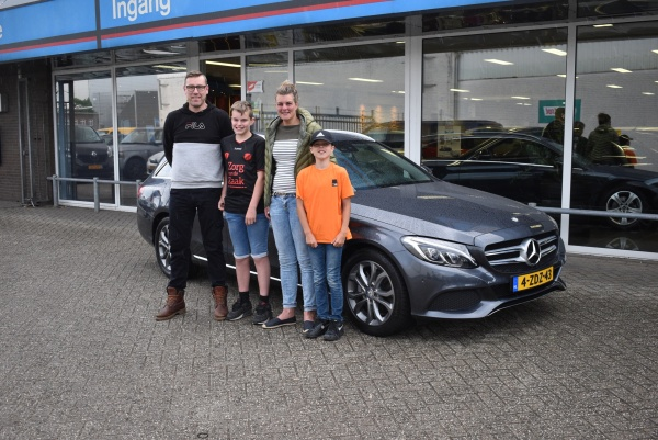 Aflevering Mercedes-Benz C220 CDI