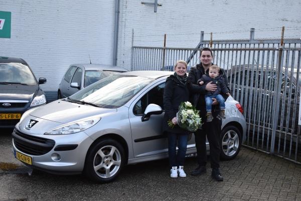 Aflevering Peugeot 207