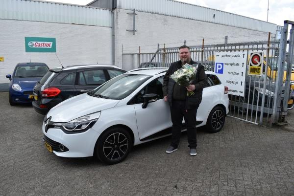 Aflevering Renault Clio station