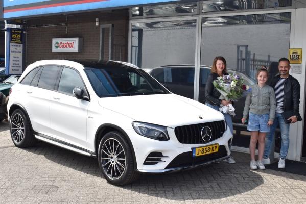 Aflevering Mercedes-Benz GLC AMG