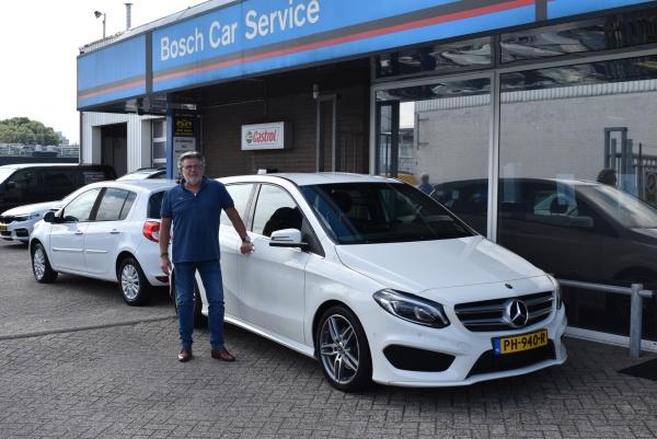 Aflevering Mercedes-Benz B180