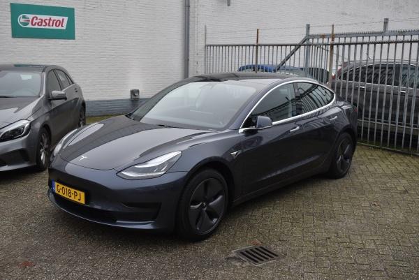 aflevering Tesla Model 3