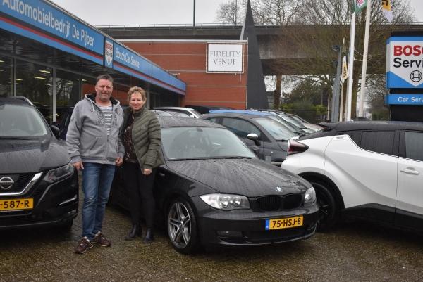 Aflevering BMW 125i Coupé