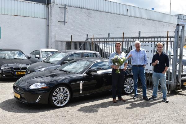 Aflevering Jaguar XKR