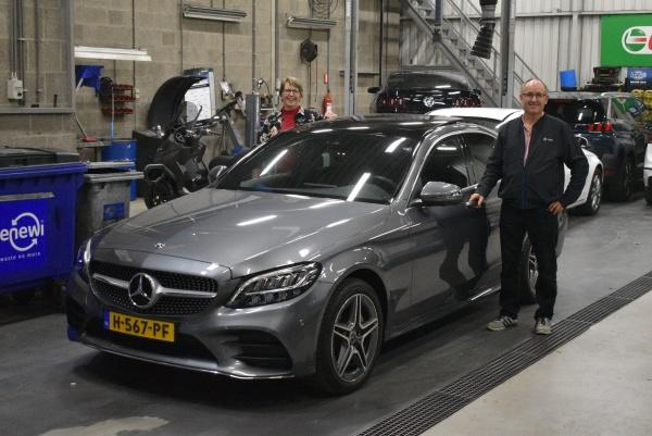 Aflevering Mercedes C200 automaat-2020-10-23 07:57:57