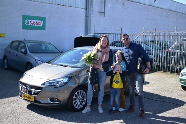 Aflevering Opel Corsa automaat