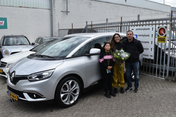 Aflevering Renault Grand Scenic