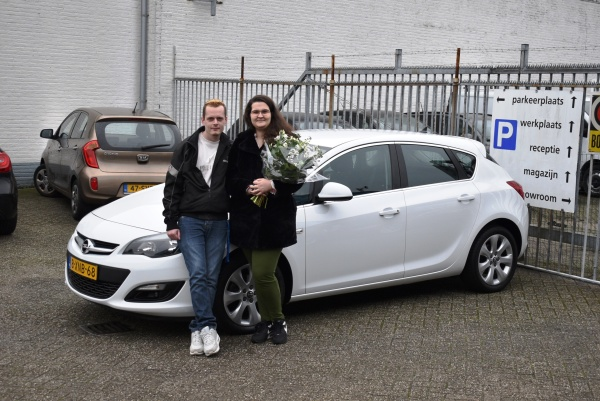 Aflevering Opel Astra