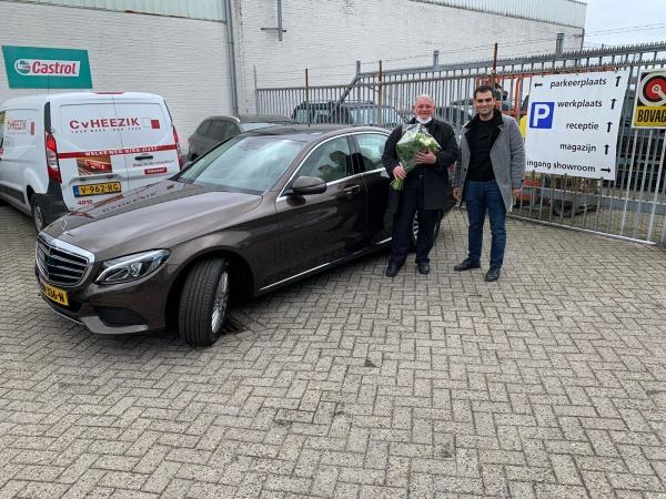 Aflevering Mercedes-Benz C200