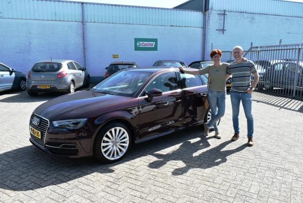 Aflevering Audi A3 E-tron