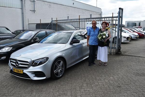 Aflevering Mercedes-Benz E200