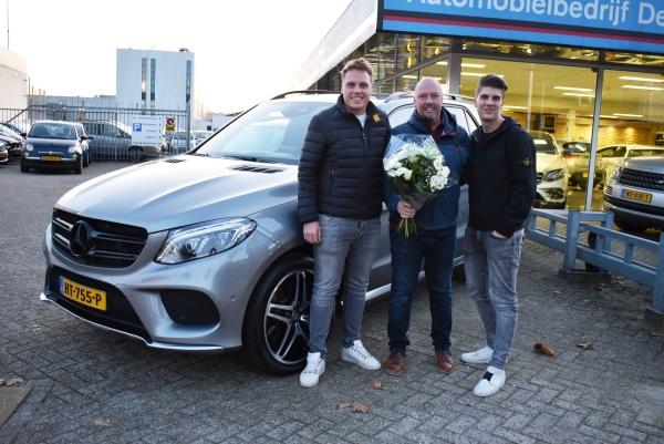 Aflevering Mercedes-Benz GLE500-2019-10-31 13:23:57