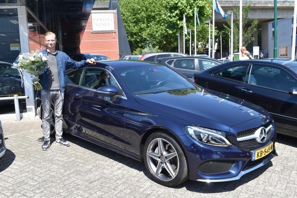 Aflevering Mercedes-Benz C coupé