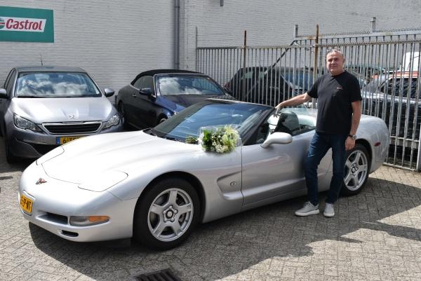 Aflevering Chevrolet Corvette