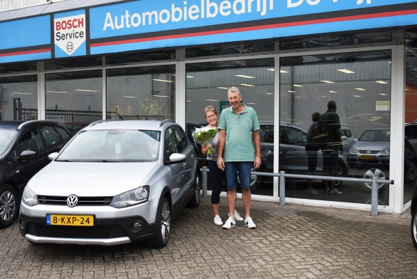 Aflevering V.W. Polo Cross Automaat